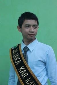 Finalis Pasanggiri Mojang Jajaka Karawang (MOKA) 2011 - Akriadi Ridwan